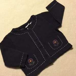 Other - Cardigan sweatshirt with embroidery